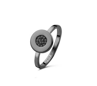 Gaia ring - sterlingsølv ruthineret
